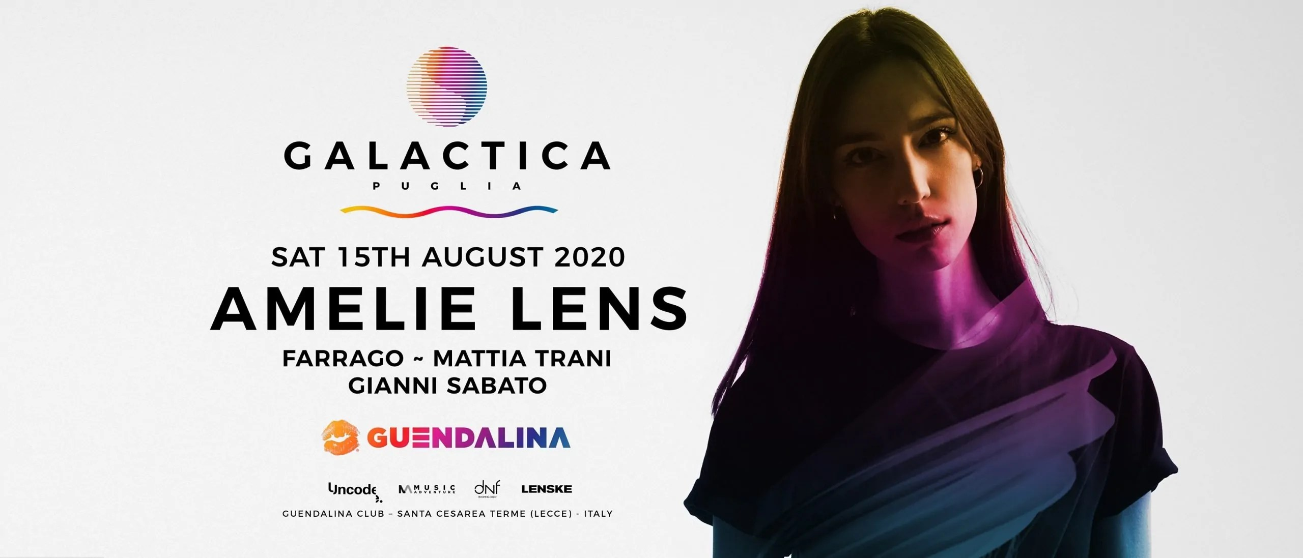 Amelie Lens Galactica Festival 2020
