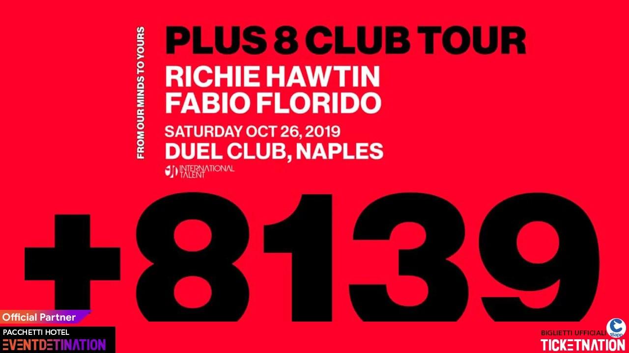 Richie Hawtin At Duel Club Napoli International Talent – Sabato 26 10 2019