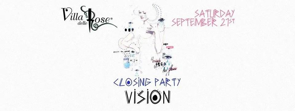 Villa Delle Rose Closing Party 21 Settembre 2019