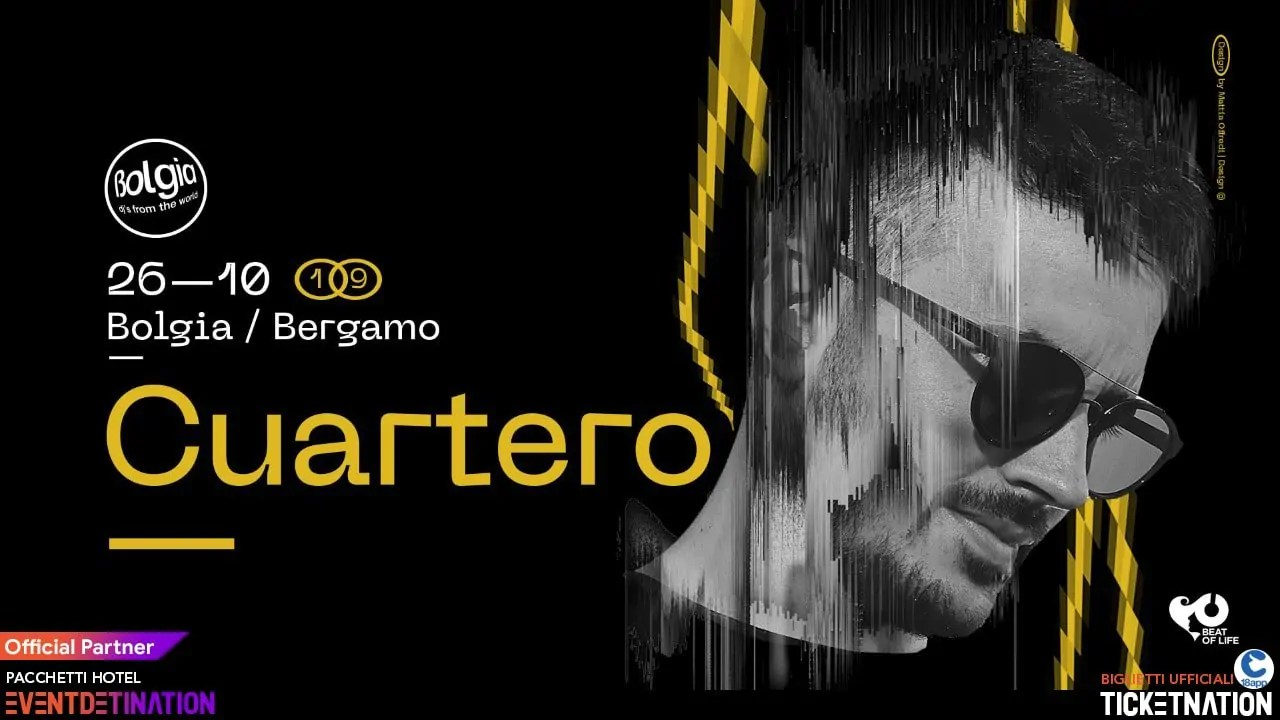 Bolgia Bergamo Cuartero Dj Sabato 26 10 2019