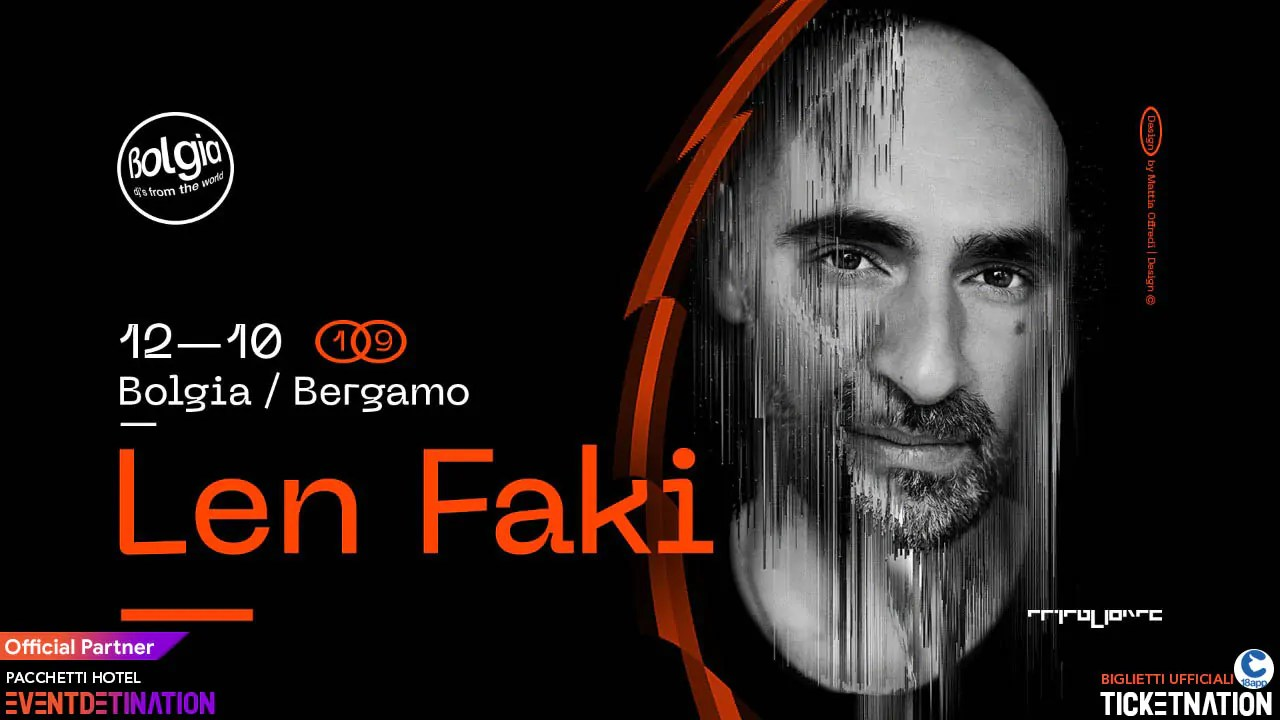 Len Faki al Bolgia Bergamo Sabato 12 10 2019