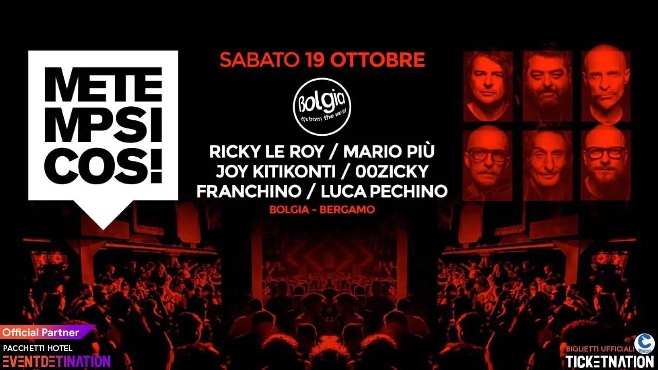 Metempsicosi al Bolgia Bergamo Sabato 19 10 2019