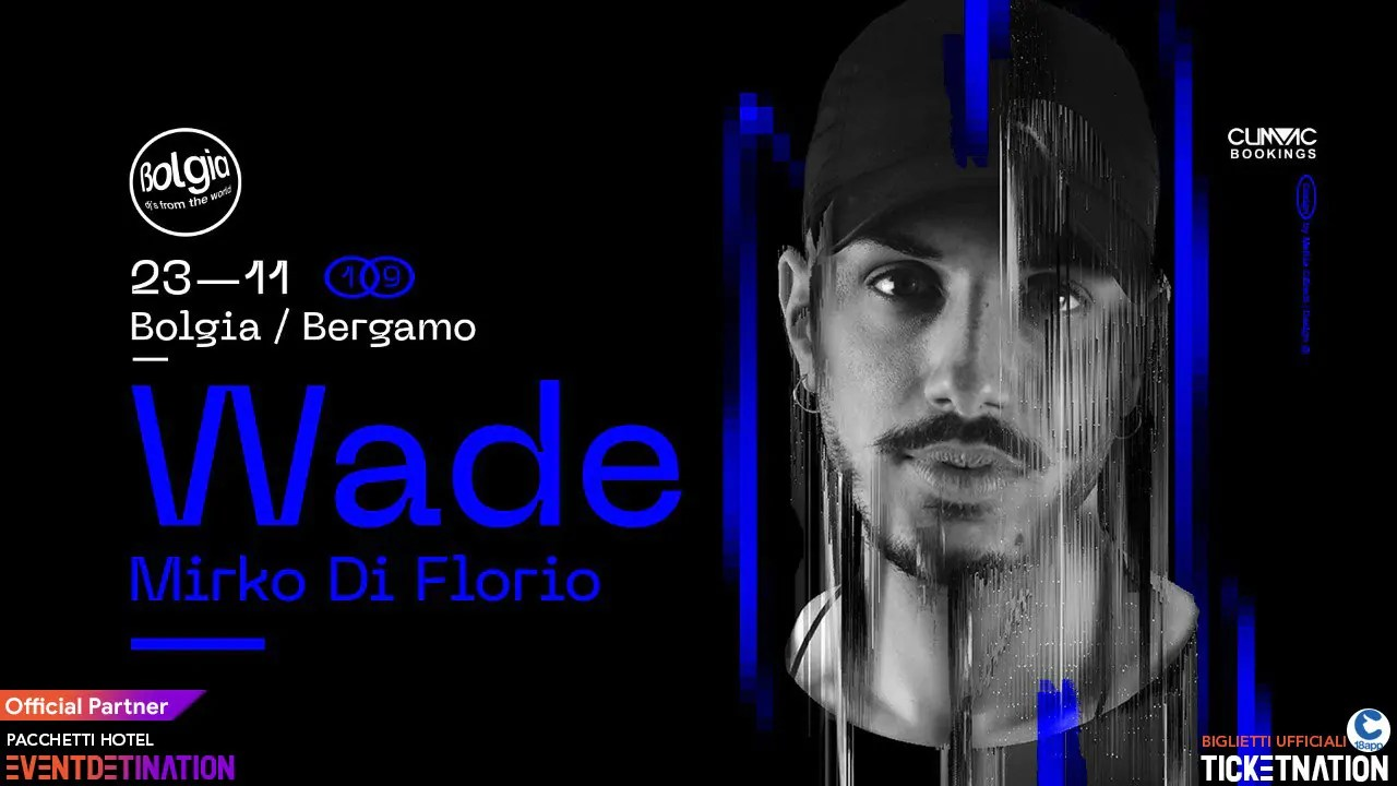 Bolgia Bergamo WADE Sabato 23 Novembre 2019