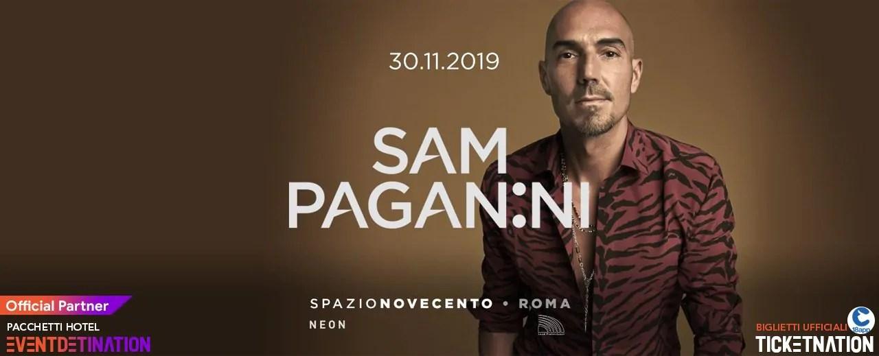 Sam Paganini Spazio Novecento 30 Novembre