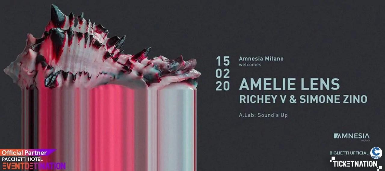Amelie Lens Amnesia Milano – 15 Febbraio 2020