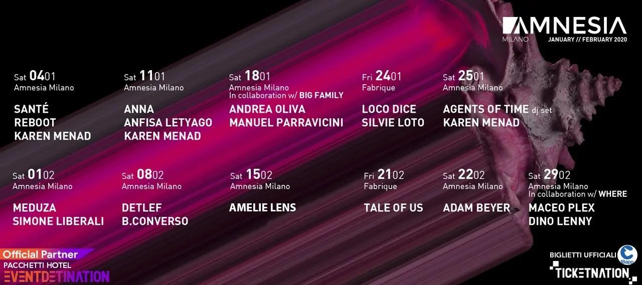 Maceo Plex Amnesia Milano – 29 Febbraio 2020
