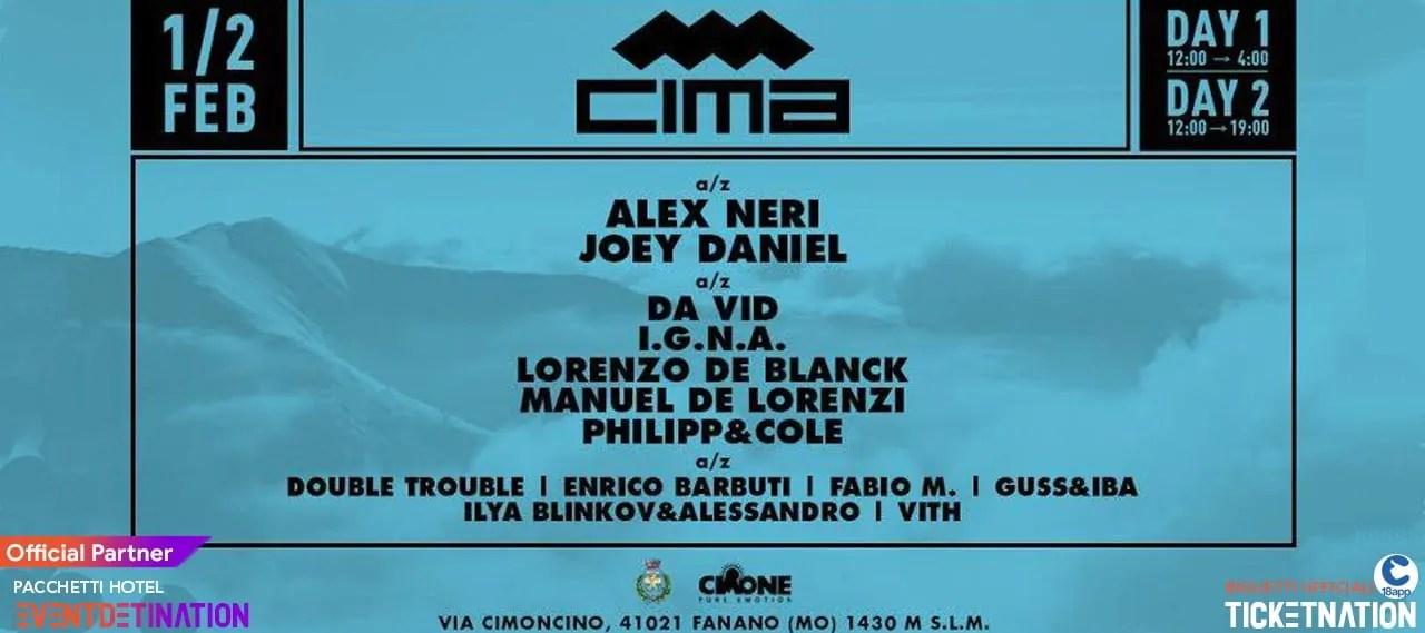 CIMA Snow Festival 2020 Sestola 01 02 2020