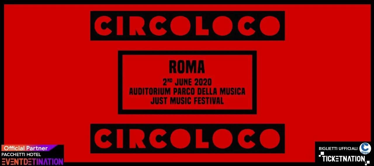 Circoloco Roma Just Music Festival – 02 Giugno 2020