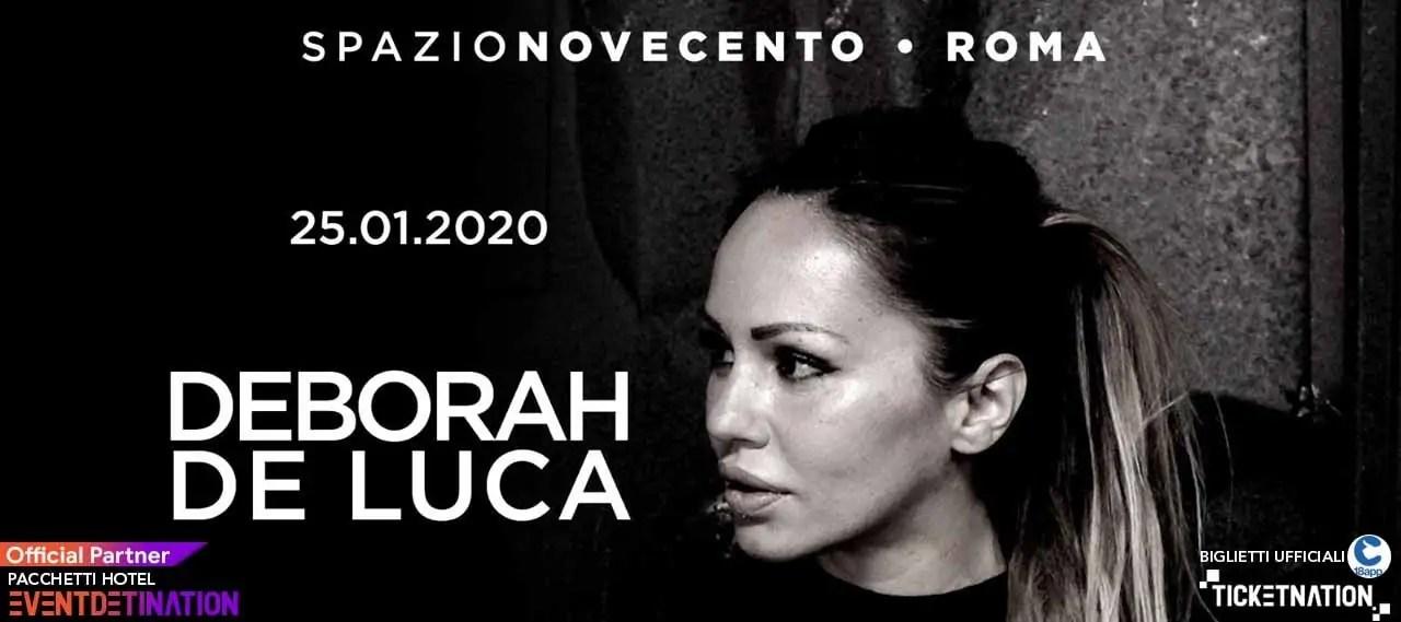 Deborah de Luca Spazio Novecento Roma – Sabato25 01 2020