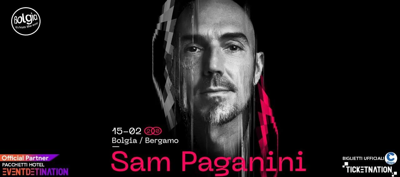 Sam Paganini al Bolgia Bergamo il 15 02 2020