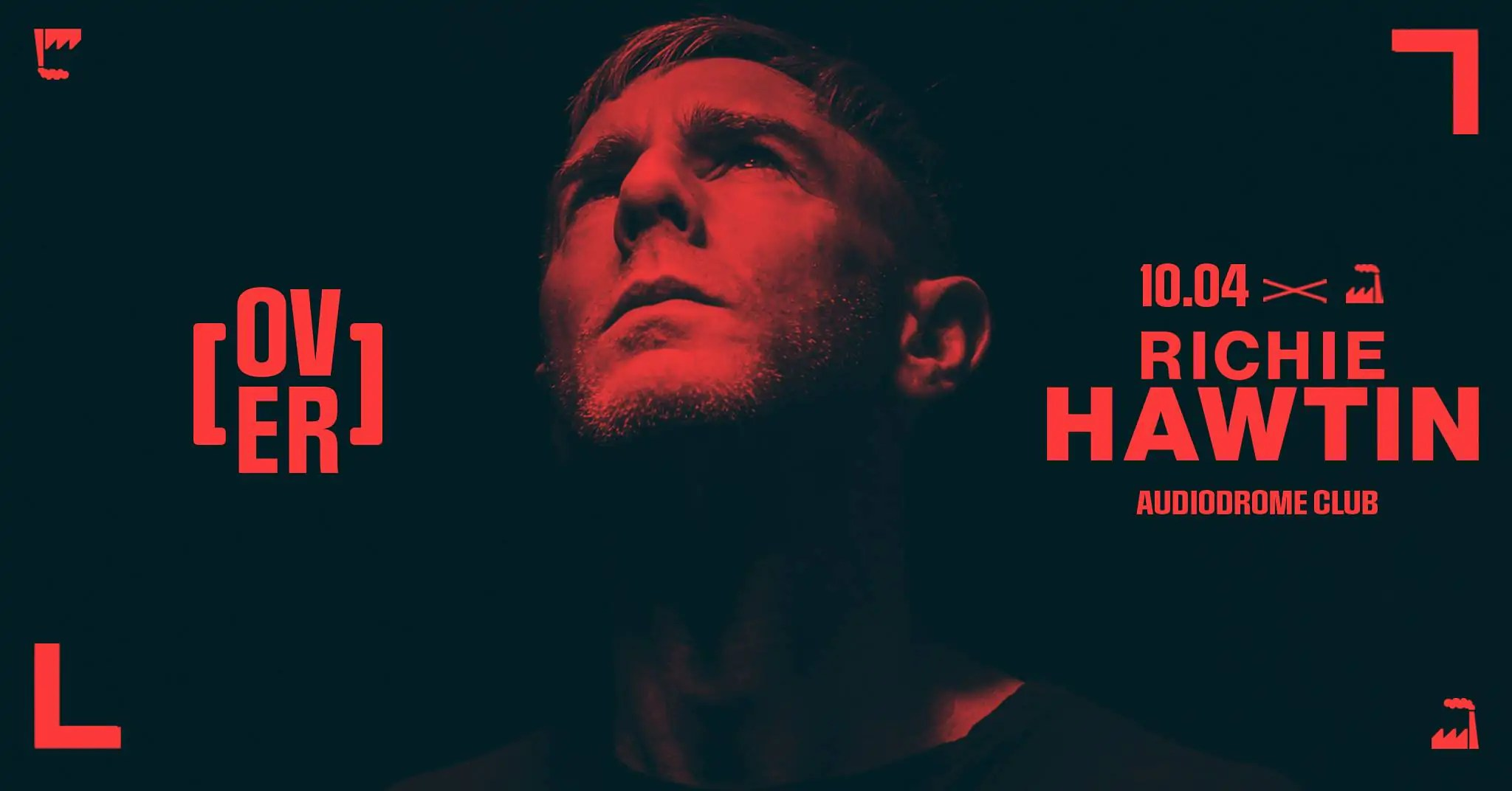 Richie Hawtin Audiodrome Live club Moncalieri Torino il 10 04 2020