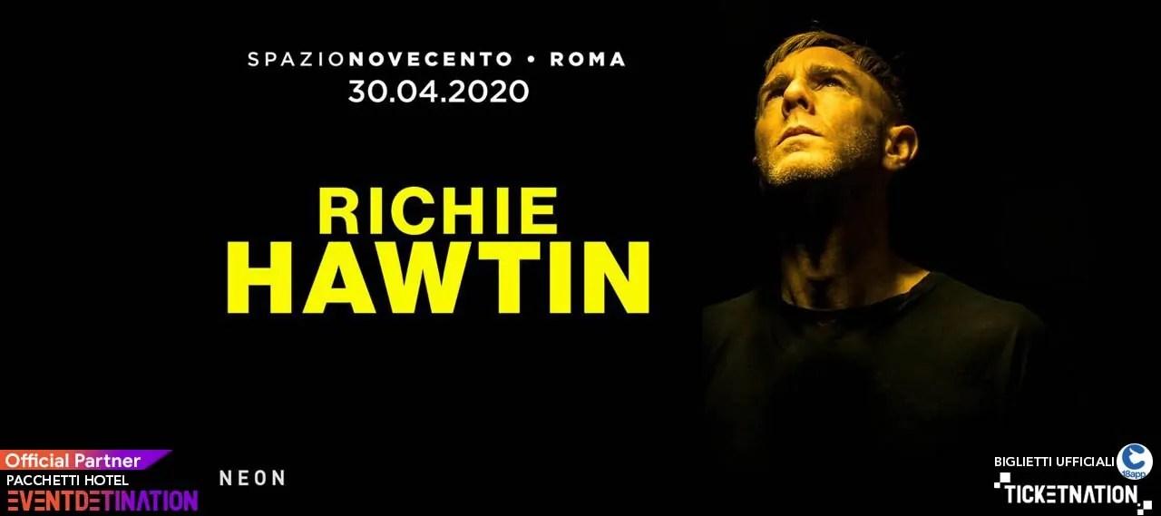 Richie Hawtin Spazio Novecento Roma 30 04 2020 Ticket E Pacchetti