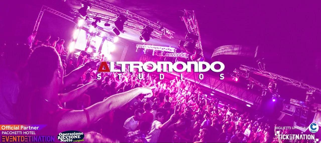 Notte Rosa Altromondo Studios Riccione