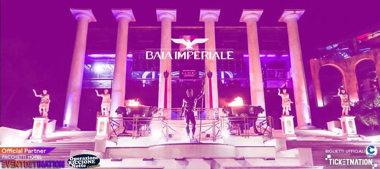 Notte rosa 2020 Baia Imperiale – Sabato 04 07 2020