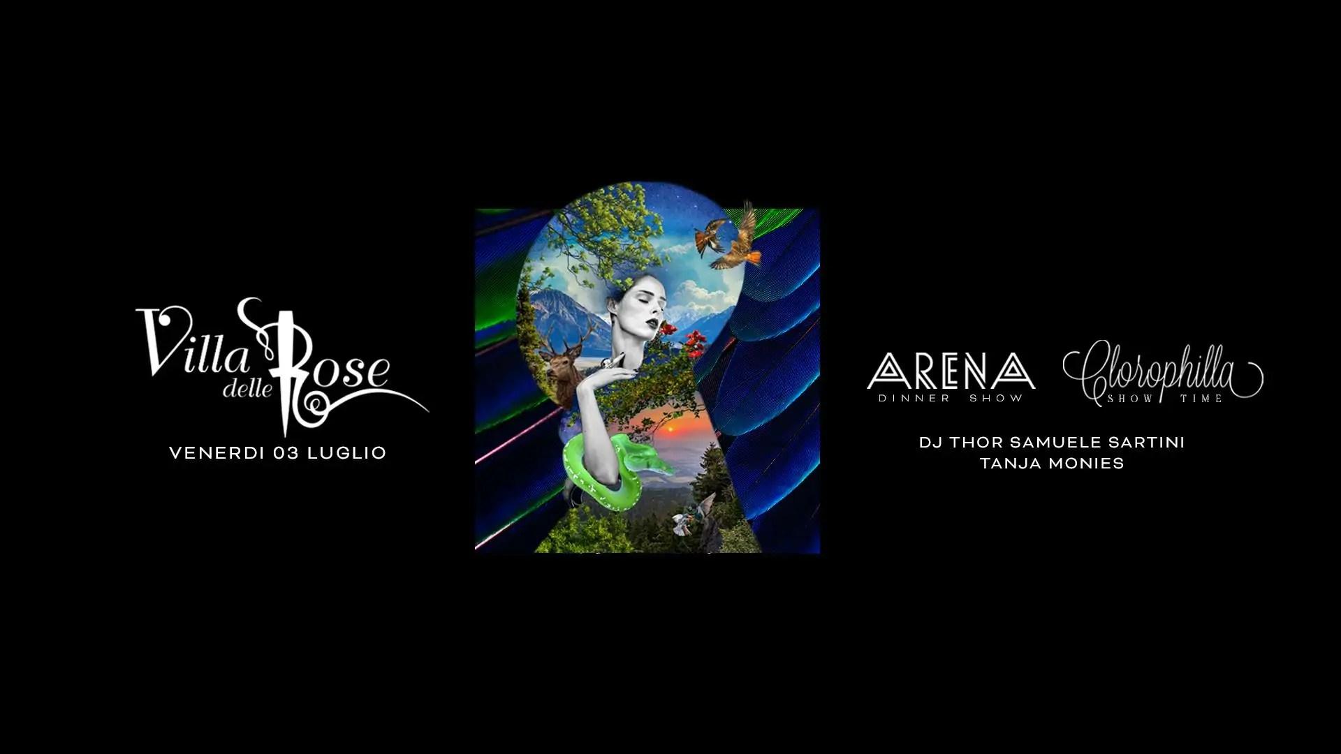VILLA DELLE ROSE VENERDì 03 LUGLIO 2020