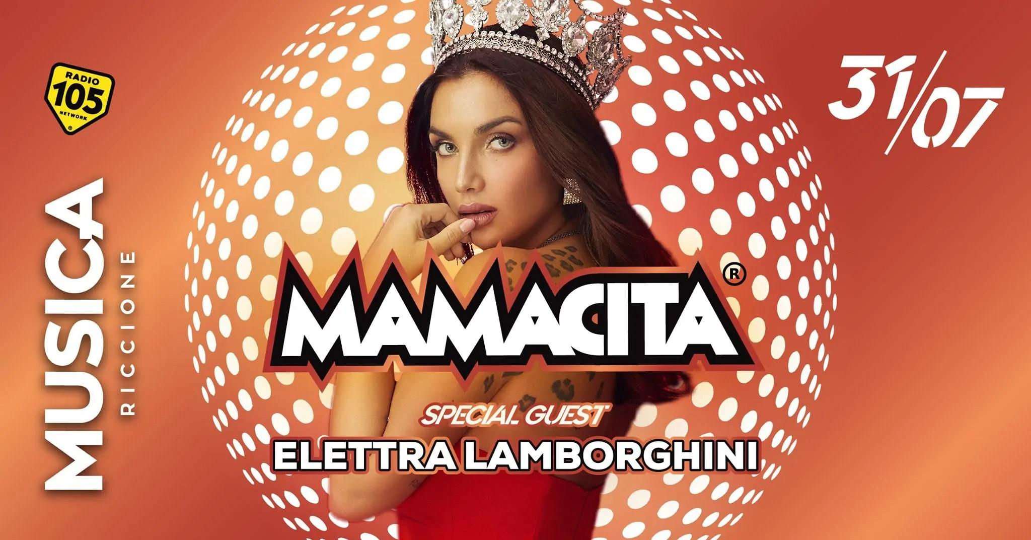 Elettra Lamborghini Mamacita Musica Riccione