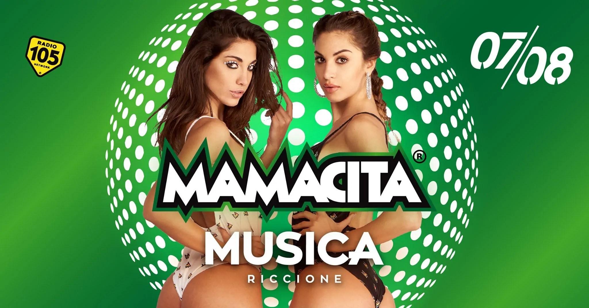 Mamacita Musica Riccione Notte Rosa 07 Agosto 2020