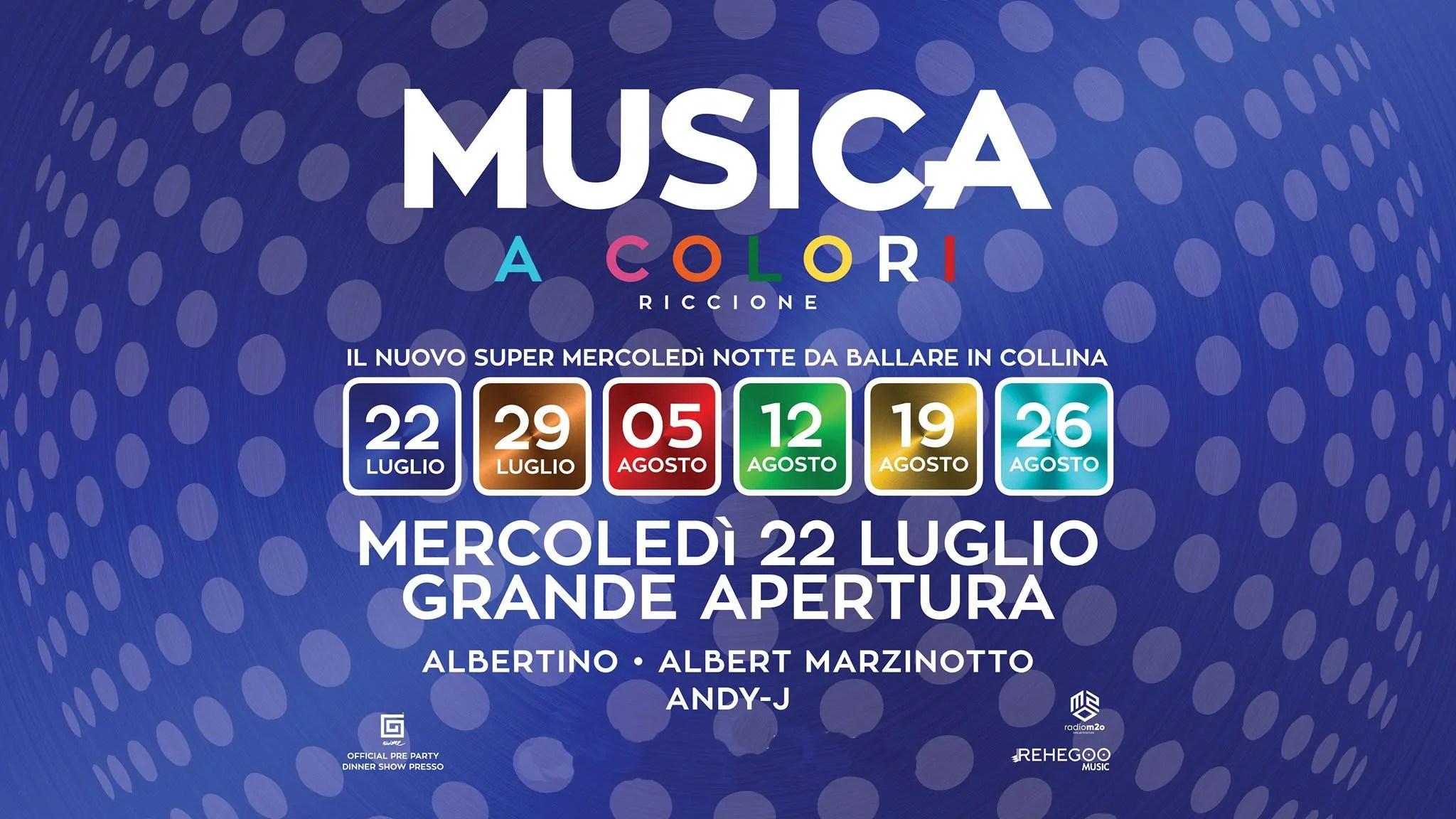 Musica Riccione Mercoledi