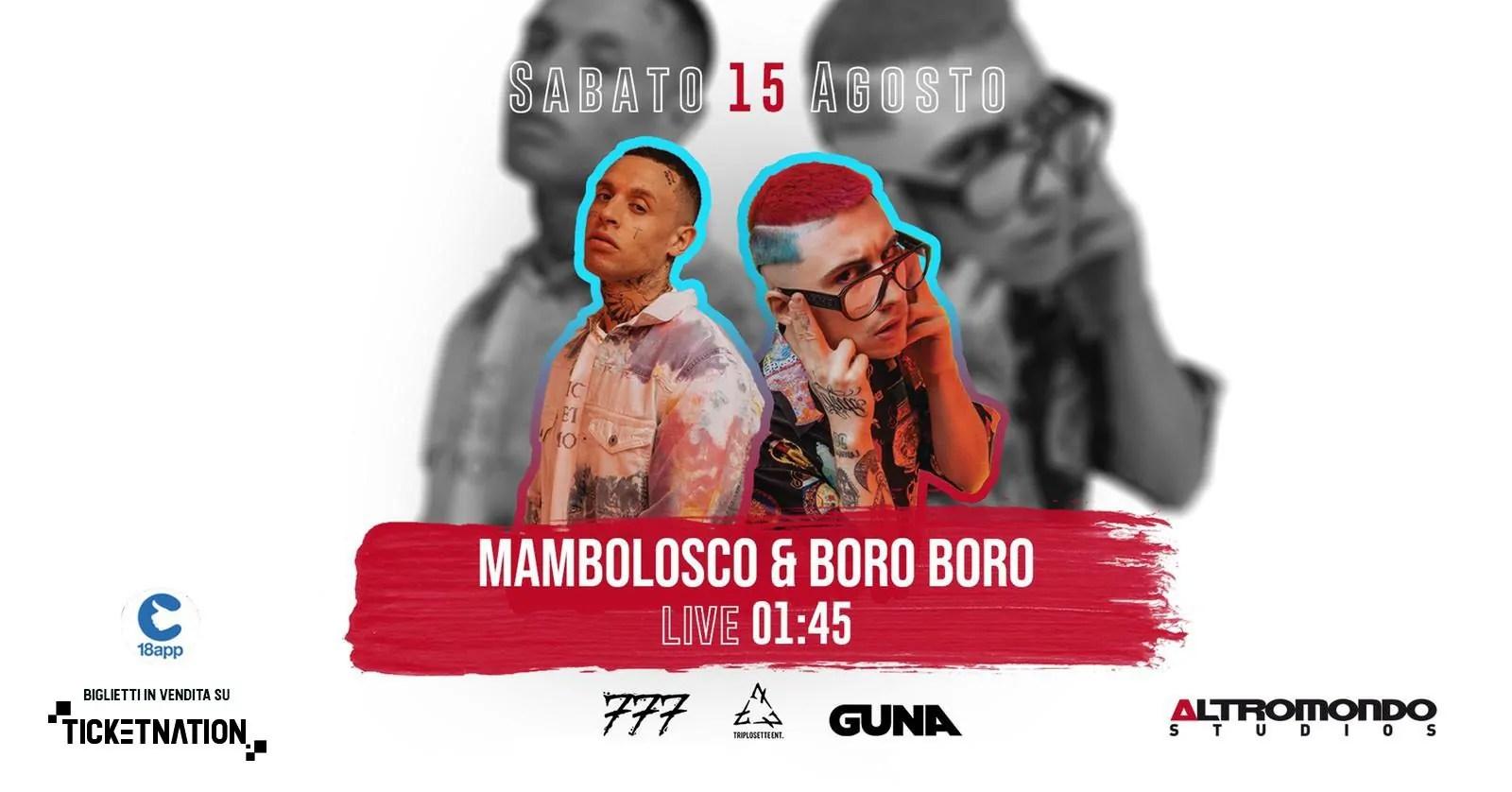 Boro Boro Mambolosco Altromondo Studios 15 08 2020