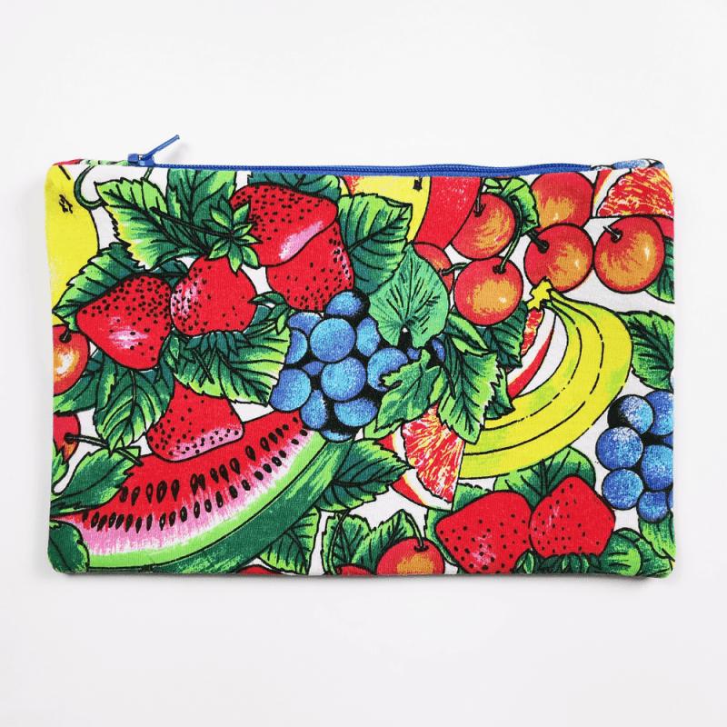 pochette imprimée fruits d'été