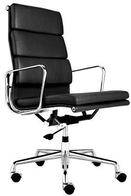 fauteuil soft pad group ea219 eames noir