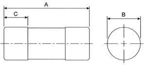 Lawson MF100 Type MF BS1361, IEC60269-3 House Service Cut