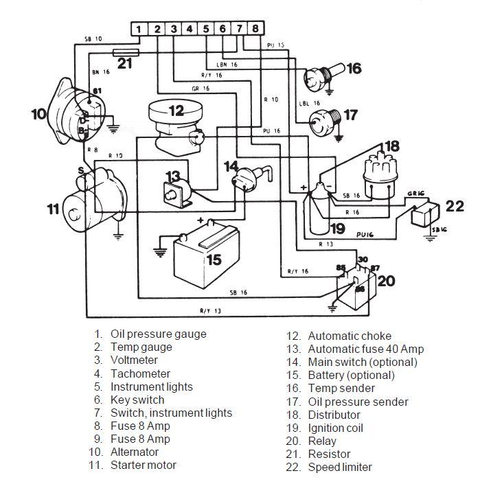 [DIAGRAM LF_9834] Volvo 240 Wiring Diagram HD Quality