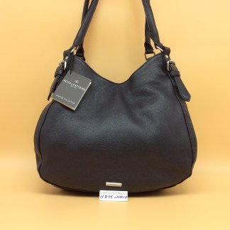 Nova Leather Bag. N875. Navy