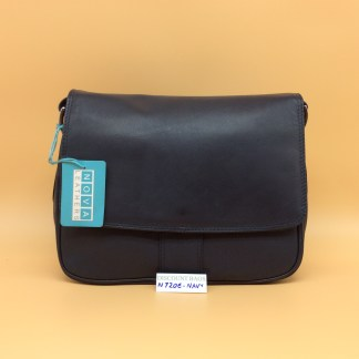 Nova Leather Bag N720. Navy