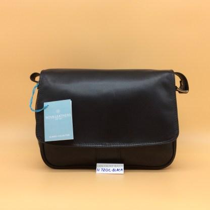 Nova Leather Bag. N720. Black