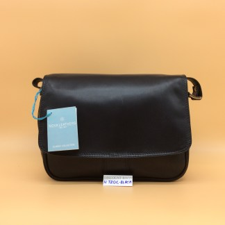 Nova Leather Bag. N720. Black