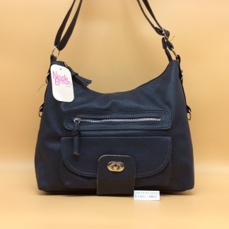 Nicole Fashion Bag. 2421. Navy