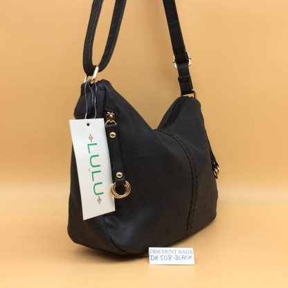Lulu Fashion Bag. DK508. Black