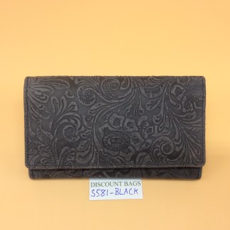 London Leather Goods.0581. Black
