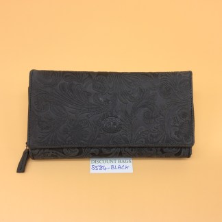 London Leather Goods. 0584. Black