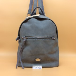 David Jones Rucksack DJ5676. Light Blue