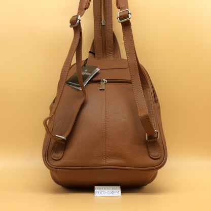 Nova Leather Rucksack 873. Cognac(Tan)