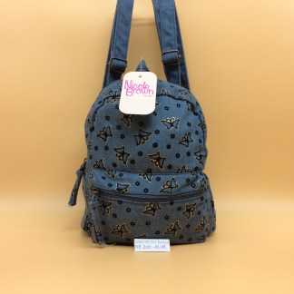 Denim Rucksack 200. Light Denim Blue