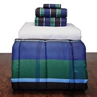 5 Piece Basic  Twin XL College Dorm Bedding and Bath Set ...