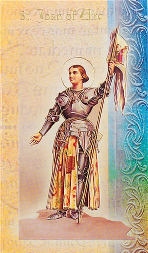 St Joan Of Arc Biography Cards
