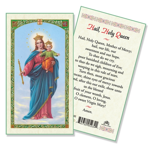 hail holy queen laminated