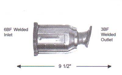 2004 NISSAN PATHFINDER Discount Catalytic Converters
