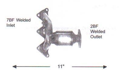1997 DODGE AVENGER Discount Catalytic Converters