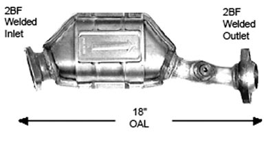 2006 MERCURY MONTEGO Discount Catalytic Converters