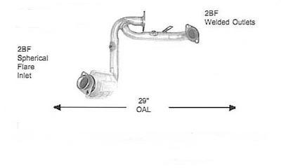 2003 MERCURY SABLE Discount Catalytic Converters