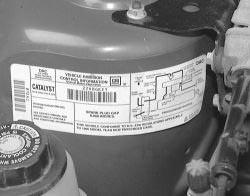 2013 Malibu Engine Diagram Vehicle Emissions Control Label