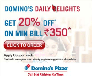 Dominos discount coupons september 2018