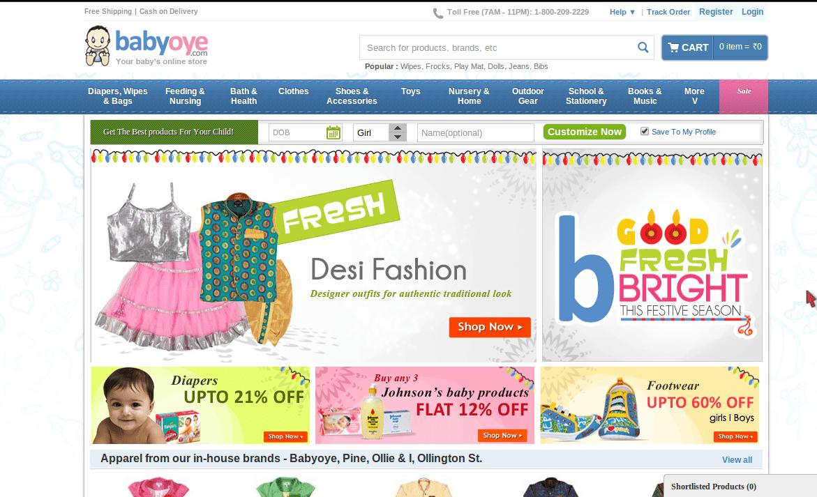 Discount coupons india