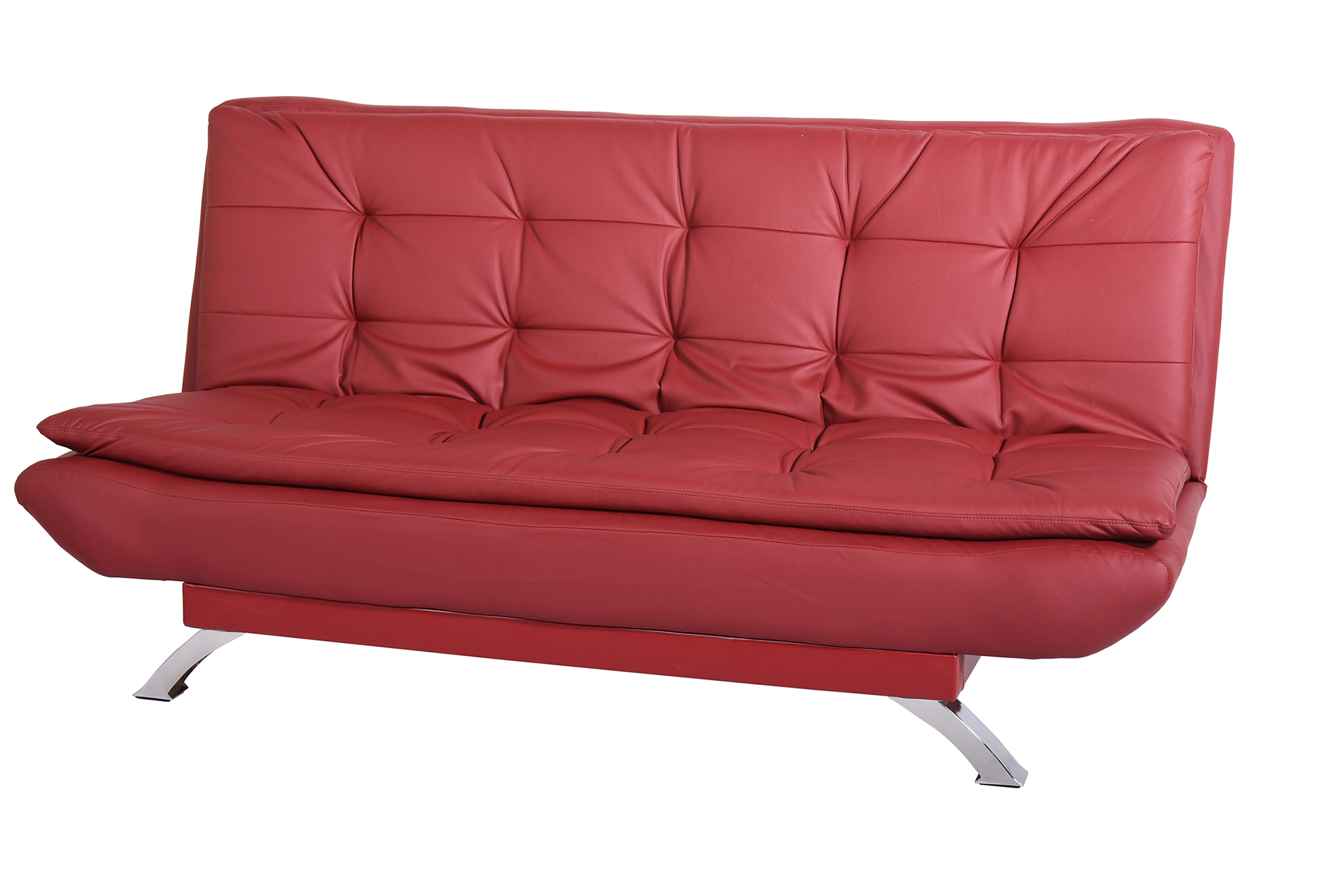 red leather sleeper sofa usa made sofas pull out beds thesofa