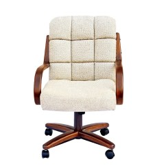 Chromcraft Furniture Kitchen Chair With Wheels Decorative Plates For Wall C117 936 Swivel Tilt Caster Dinette